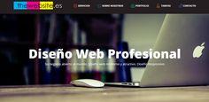 Diseño Web Profesional. Página web con diseño moderno y responsivo (optimizado para los diferentes dispositivo) www.thewebsite.es
