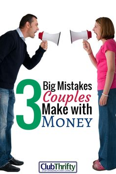 One of the biggest mistakes couples make is allowing love to render them financially stupid. Here are 3 big mistakes that couples make with money.