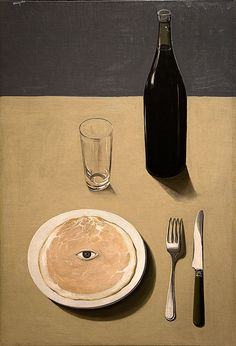 Rene Magritte. It seems quite tame--even boring or cliched--now. In its time, though, it was shocking.