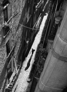 Street Scenes of #Madrid and #Barcelona in the 1950's #Photo Francesc Catala-Roca