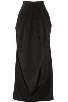 Maxi Skirt with Sash Romantic Black Long Skirt Pockets Elegant ...