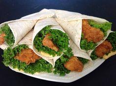 KFC Krokante Kip Wraps