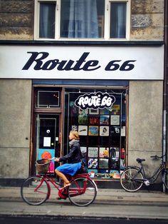 A snippet of Copenhagen street …