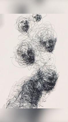 Ballpoint pen drawing time-lapse #art #artwork #gallery #drawing #ballpointpen