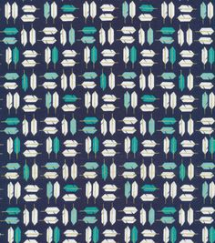 Cloud 9 Premium Cotton Fabric-Feathered Navy