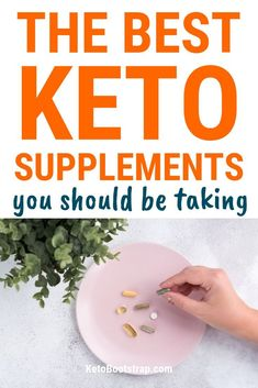 The Best Keto Supplements for Losing Weight. Find out the best ketogenic diet supplements to get and take for fast weightloss. Learn about the benefits of magnesium MCT oil amino acids and more! Ketogenic Recipes, Ketogenic Diet, Ketosis Diet, Keto Foods, Keto Snacks, Diabetic Recipes, Keto Supplements, Easy Diets, Diets For Beginners