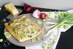 mein Feenstaub – DIY, Deko und Rezepte: {Let's cook together} Vegetarische Lauch-Pizza