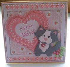 Glückwunschkarte zum Geburtstag von Wollzottel auf DaWanda.com