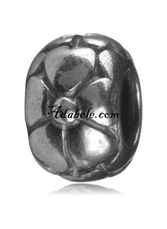 This beautiful heart petal .925 Sterling Silver European charm fits Pandora, Biagi Trollbeads, Chamilia, and most charm bracelets find out more at adabele.com