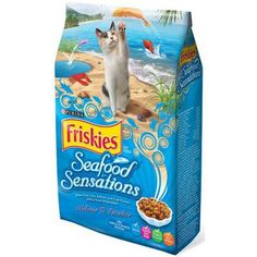 Friskies Seafood Sensations  16 lb Pack of 1 >>> More info could be found at the image url.(This is an Amazon affiliate link)