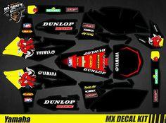 Red Bull, Custom Wraps, Yamaha Yzf, Kit, Scrambler, Decals, Deadpool, Ebay, Style