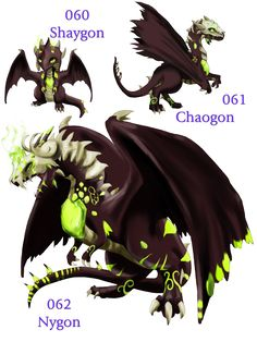 Fakemon: Shadow Dragons by Blue-Hearts on deviantART