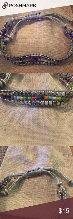 """Premier designs """"spiffy"""" bracelet Premier designs """"spiffy"""" bracelet with 6 inch to 10 inch sliding knot. Very comfortable and colorful. Premier Designs Jewelry Bracelets"""