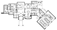 This traditional design floor plan is 4179 sq ft and has 5 bedrooms and has bathrooms. Luxury House Plans, Dream House Plans, Upstairs Loft, Fireplace Wall, Formal Living Rooms, Big Houses, Traditional Design, Custom Homes