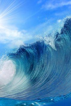 A legion of advancing waves......
