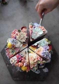 flower cake - Atelier Soo