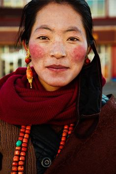 Fotografió la belleza natural de mujeres de todo el mundo