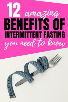Intermittent fasting has fast become one the most effective weight loss strategies. It also comes with many more health benefits that everyone could benefit from. Discover the these 12 amazing benefits of intermittent fasting here. Best Weight Loss, Healthy Weight Loss, Weight Loss Tips, How To Lose Weight Fast, Healthy Food, Fitness Workout For Women, Health And Fitness Tips, Health And Wellness, Fitness Workouts