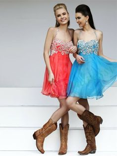 Country Dresses we couldn't afford those dresses but cute idea!