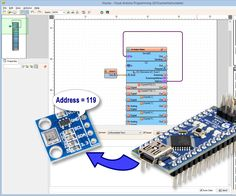 And my 55th Instructable is finally available :-) Detailed step by step instructions on how to connect I2C device to Arduino Nano, and program it Visuino to scan the I2C bus for its I2C Address #Arduino #Visuino