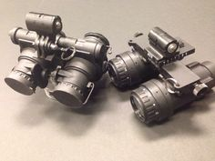 Delft PS1 MS MkII Mod0: MILSPEC Gen 2 dual tube NVG with BSP (bright source protection) review