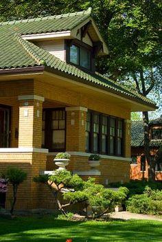Historic Chicago Bungalow,Ravenswood Manor, Image:flickr