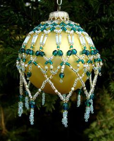 Patterns   BEADED ORNAMENT COVERS FREE PATTERNS More