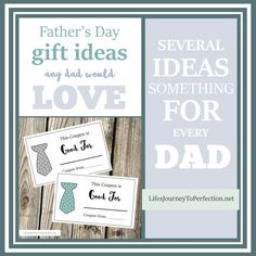 Father's Day Gift Ideas Any Dad Would LOVE!