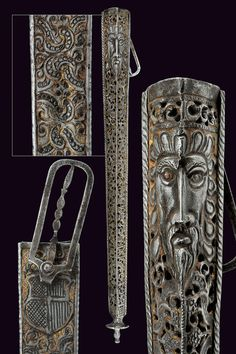 A Landsknechts scabbard for a dagger,  			                			  			   			                              					                			  			provenance:  			   			Germany  			                			  			dating:  			   			  			early 16th Century