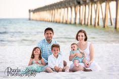 Pensacola Beach Family Photographer, Pensacola Family Photographer, Pensacola Beach Pier, Davis House Photography