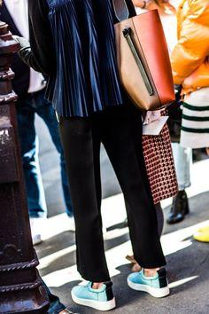 Celine Twisted Cabas bag NYFW