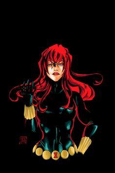Black Widow - gemlight.deviantart.com