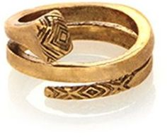 shopstyle.com: House of Harlow 1960 Jewelry All For the Want of A Horseshoe Ring