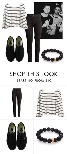 """""""Untitled #407"""" by vickyagh on Polyvore featuring H&M, Vans and Nest"""