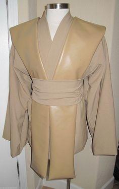 Cosplay Quinlan Vos tabard vest /& sash//obi costume