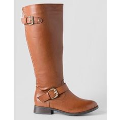 """Francesca's """"Highnoon Studded Knee High Boot"""" Brand new never worn brown knee high boots Francesca's Collections Shoes Over the Knee Boots"""