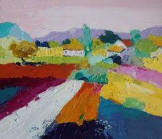 "Saatchi Art Artist Michele Ulmann; Painting, ""ailleurs"" #art"
