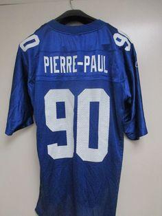 58cf2e323 Jason Pierre-Paul Reebok  90 New York Giants Home NFL Football Jersey Size  M  Reebok  NewYorkGiants