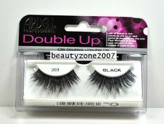 203 Black Ardell Double Up Professional False Lashes   Love these ❤!