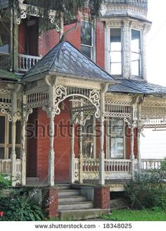 "Dilapidated Victorian house appears ""haunted"" by Christina Richards, via Shutterstock"