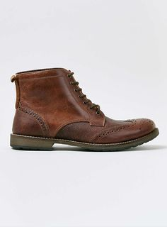 Photo 1 of Tan Leather Brogue Boots