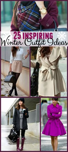 25 Inspiring Winter Outfit Ideas, a collection of gorgeous winter fashion pictures to keep you inspired through the season! - ThisSillyGirlsLife.com