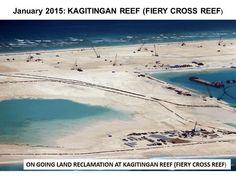 Fiery Cross Reef will be China's main base in the Spratlys