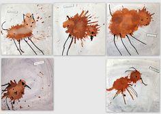 les petites têtes de l'art: Drôles de bêtes