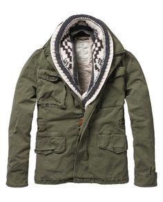 Midlength military jacket - Jackets - Scotch & Soda Online Shop