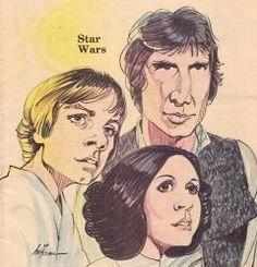 Star Wars Fresno Bee 1980's