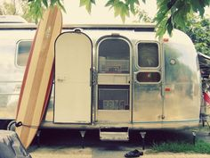 A longboard and an Airstream..., Life