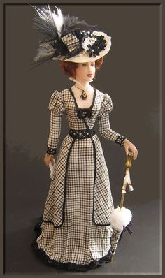 Cecilia from 1898 by annemariedolls