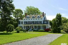 A beautiful long Island historic greek revival home. Located on a seaside village with five en-suites, seven fireplaces, gourmet kitchen, sunroom, garden, patio, wraparound porch. Mature gardens, pool and pool house, classic country elegance.