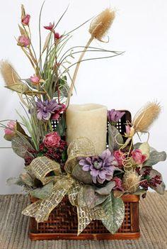 Delicate Flowers, Floral Centerpiece